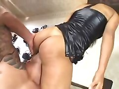 Brazilian Slut in Leather