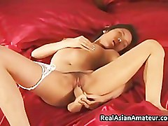 Petite asian in see through panties part5