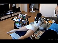 Japenese gal upskirt with face candid NN
