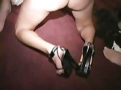 Masked MILFs suck and fuck hard at costume orgy