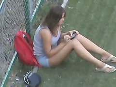 hidden camera russian girl beautiful legs