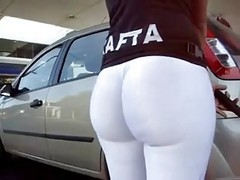 Knackarsch Tight White Leggins