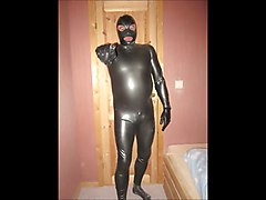 me in rubber latex