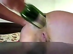 amateur anal fisting wine bottle insertion. euna from dates25.com