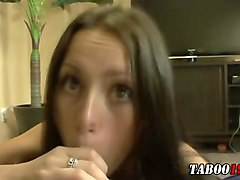 taboo stepsis teen facial