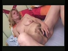 Skinny Hairy Mature Toys And Fucks