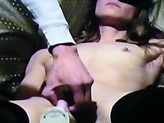 homemade amateur tied up blindfolded insertion vibrator