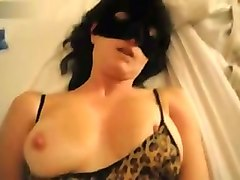 masked busty emotional wife of my buddy is ready for daily missionary