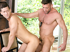 Kyle Kash & Bruce Beckham in Busted and Banged Part 2 Video - DylanLucas