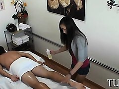 astounding sex and relaxing massage get united together
