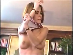 Skinny pretty Girl gets anal and facial !