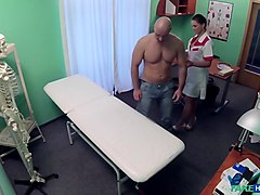 Barbara Alex in Naughty Nurse Seduces Married Man - FakeHospital
