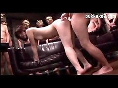 large gangbang for japanese teen
