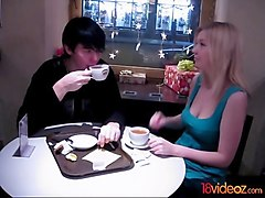 18 videoz - no cream in a cafe shop?