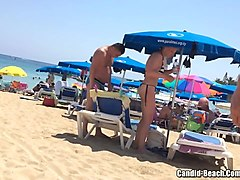 Sexy Beach Thongs Milfs Voyeur HD Hidden Cam Video 720p -