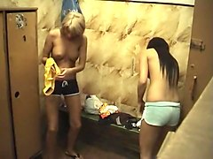 Amazing Homemade clip with Hidden Cams, Changing Room scenes