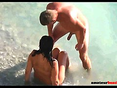 beach nudist couple exposed by voyeur camera