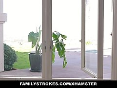 familystrokes - hot milf fucked by both step-sons