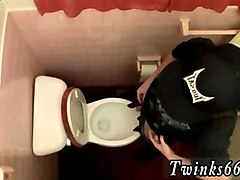 gay young men piss cum unloading in the toilet bowl