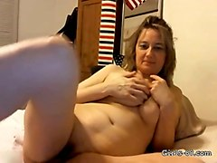 this mature slut can't get out of my head and her tits are more than a handful