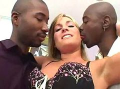 Flower Tucci double dicked down