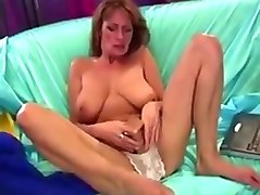 Busty Hairy Mature Toys Squirts For The Camera