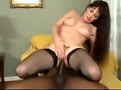 White wife dreaming about black stud