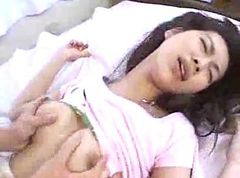 cute japanese garil gets plowed