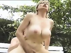 sexy german milf loves anal and outdoors