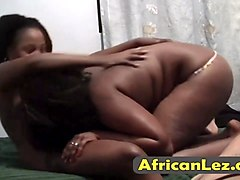chubby african lesbos licking cunts in bedroom