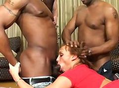 Euro babe Keira has two cocks to take care of in this threesome