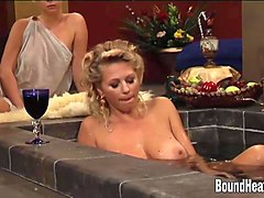 slave tears of rome ii massage with lesbian goddess