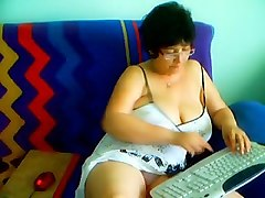 Hairy Granny on the Cam #1
