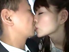 Crazy Japanese chick Chie Maeda in Hottest Bus, Doggy Style JAV scene