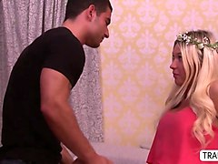 asian transbabe venus dominates over kendra in a shemale tryst
