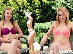 lady bug,rebecca black,lucia denvile in fucking with friends