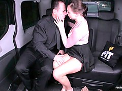 fucked in traffic - hot czech teen morgan rodriguez gets fucked in the car