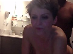 real horny mature wife cuckolds her husband
