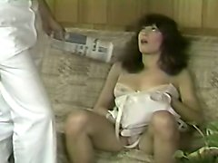 naughty busty brunette sweetie pounded in doggy style position