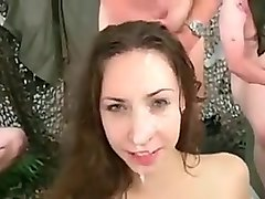 Amazing Homemade movie with Cumshot, Gangbang scenes