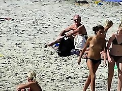 beach voyeur topless sexy beach girls spycam hd video