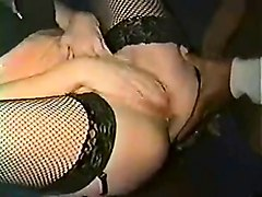 interracial blowjob from femdom babe