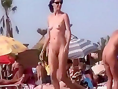 Public foreplay fun in voyeur compilation