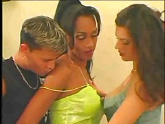 Shemale Anais In A Hot Threesome Part 1 Of 3