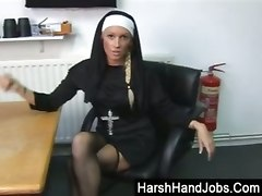 Biblical Ball Bashing From Angry Nun