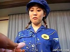 Asiatisk Police Uniform