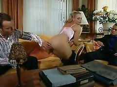 Aristocrat Threesome Blonde