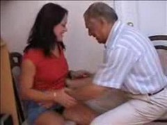 Old Man Fucks Young Tight Teen Pussy
