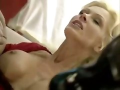 Mature Blonde Gets Pantyhose Ripped Before Ass Fucked