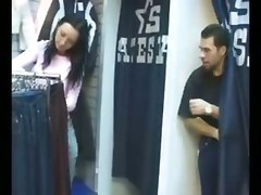 Czech Bitch Fucked At Dressing Room